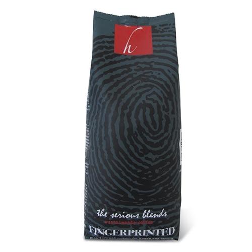 Hesselink Koffie Fingerprinted Serious Dark
