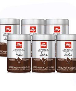 illy koffiebonen India 6 stuks