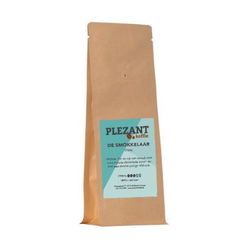Plezant Koffie De Smokkelaar Sterk 250 gram