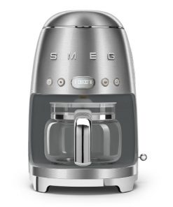 SMEG Filterkoffiemachine Roestvrijstaal