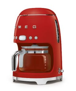 SMEG Filterkoffiemachine Rood