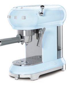 SMEG Espressomachine Pastelblauw