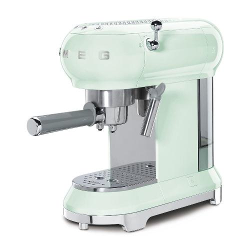 SMEG Espressomachine Watergroen