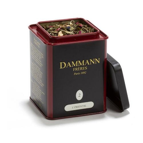 Dammann Frères thee blik Oriental