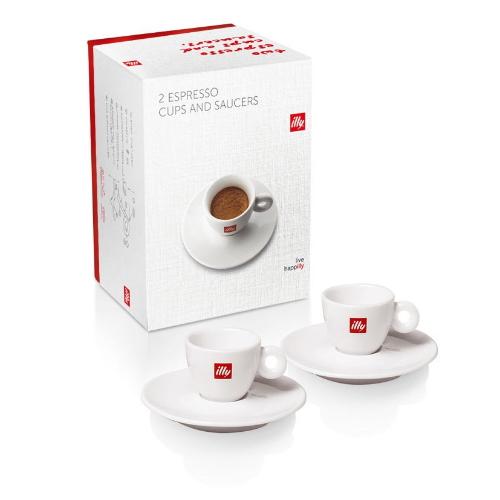 illy espresso kop en schotel