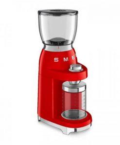 SMEG koffiemolen Rood